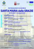 PROGRAMMA FESTEGGIAMENTI IN ONORE DI SANTA MARIA DELLE GRAZIE PATRONA DI ALIA 2018
