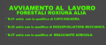 AVVIAMENTO AL LAVORO FORESTALI ROXIURA ALIA E ROCCAPALUMBA.