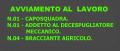 AVVIAMENTO AL LAVORO: CAPOSQUADRA - ADDETTO AL DECESPUGLIATORE MECCANICO - BRACCIANTE AGRICOLO